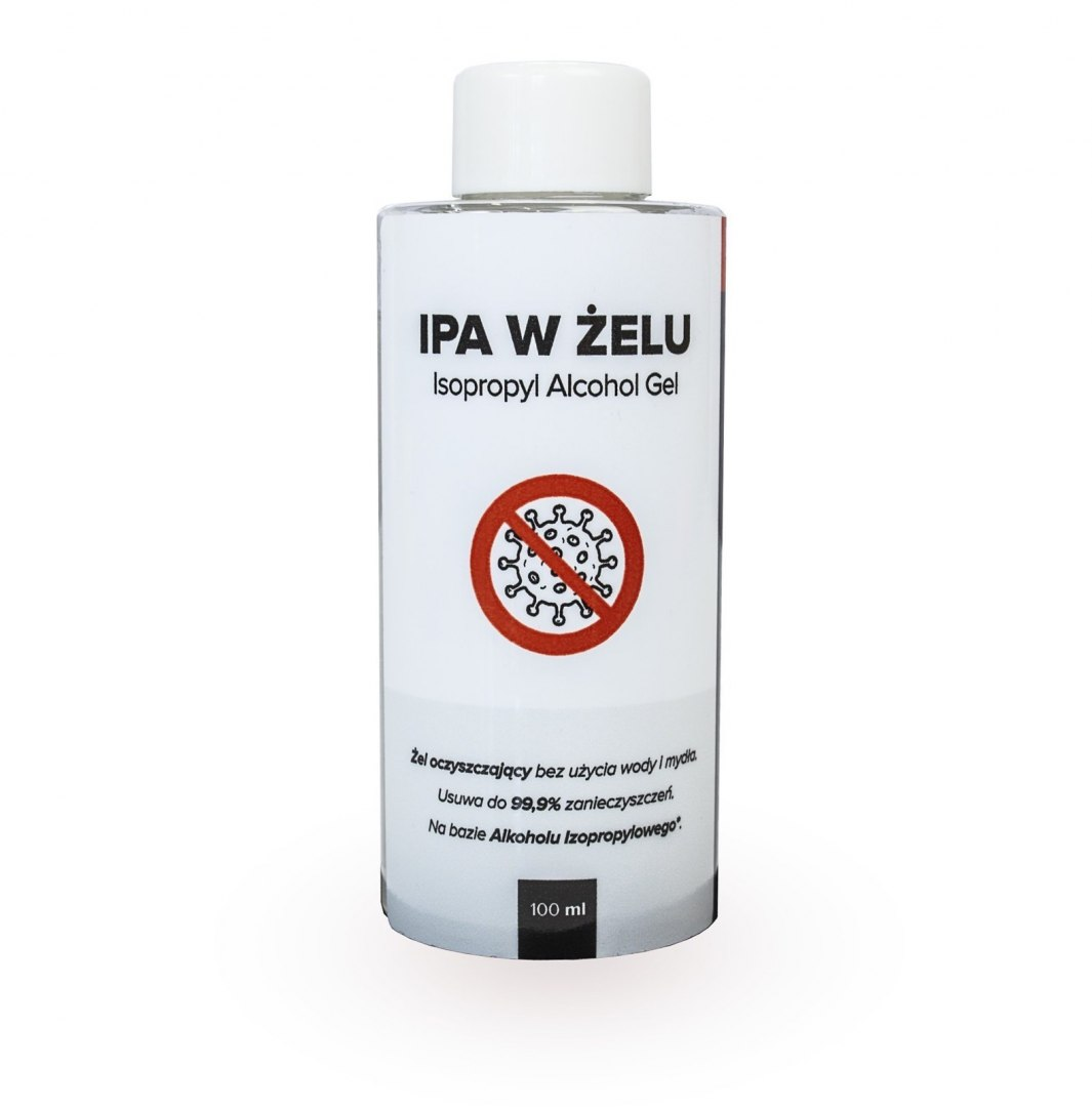 RR CUSTOMS IPA w żelu 150ml (Alkohol izopropylowy w żelu) - GRUBYGARAGE - Sklep Tuningowy
